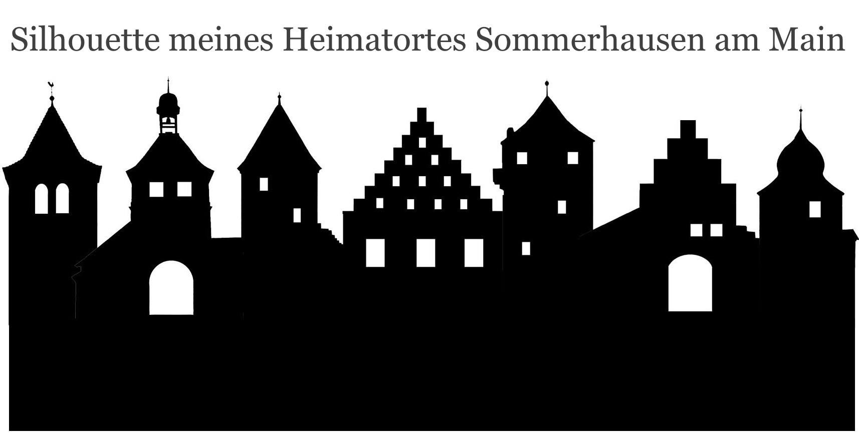 silhouette sommerhausen